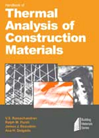 Cover image for Handbook of Thermal Analysis of Construction Materials
