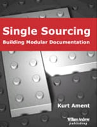 Single Sourcing, 1st Edition,Kurt Ament,ISBN9780815514916