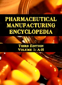 Cover image for Pharmaceutical Manufacturing Encyclopedia