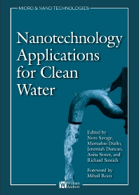 Cover image for Nanotechnology Applications for Clean Water