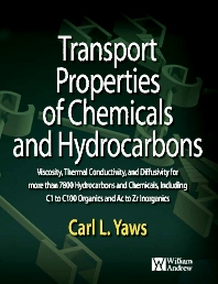 Transport Properties of Chemicals and Hydrocarbons - 1st Edition - ISBN: 9780323165518, 9780815520405