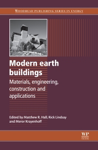 Cover image for Modern Earth Buildings