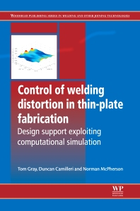 Control of Welding Distortion in Thin-Plate Fabrication - 1st Edition - ISBN: 9780857090478, 9780857099327