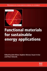 Cover image for Functional Materials for Sustainable Energy Applications