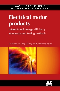 Electrical Motor Products - 1st Edition - ISBN: 9780857090775, 9780857093813