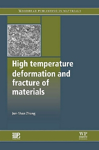 Cover image for High Temperature Deformation and Fracture of Materials