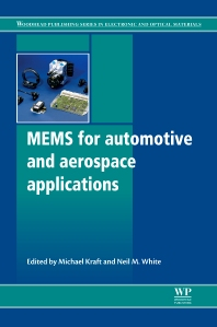 Mems for Automotive and Aerospace Applications, 1st Edition,M Kraft,N M White,ISBN9780857091185