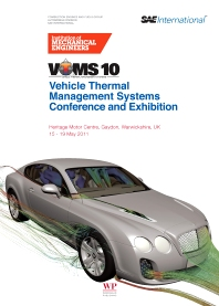 Cover image for Vehicle thermal Management Systems Conference and Exhibition (VTMS10)