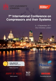 Cover image for 7th International Conference on Compressors and their Systems 2011