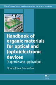 Cover image for Handbook of Organic Materials for Optical and (Opto)Electronic Devices