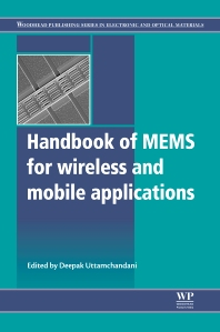 Cover image for Handbook of Mems for Wireless and Mobile Applications
