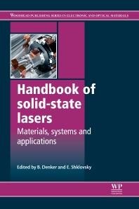 Cover image for Handbook of Solid-State Lasers