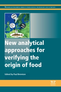 Cover image for New Analytical Approaches for Verifying the Origin of Food