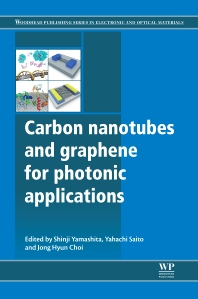 Cover image for Carbon Nanotubes and Graphene for Photonic Applications
