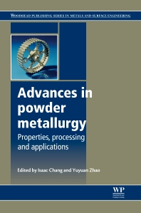 Advances in Powder Metallurgy - 1st Edition - ISBN: 9780857094209, 9780857098900