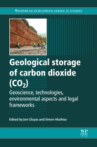 Cover image for Geological Storage of Carbon Dioxide (CO2)