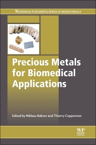 Cover image for Precious Metals for Biomedical Applications