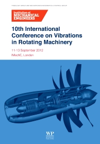 Cover image for 10th International Conference on Vibrations in Rotating Machinery
