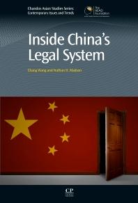 Cover image for Inside China's Legal System