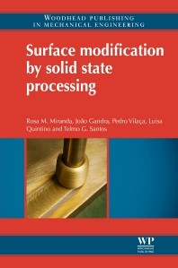 Cover image for Surface Modification by Solid State Processing