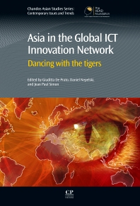 Cover image for Asia in the Global ICT Innovation Network