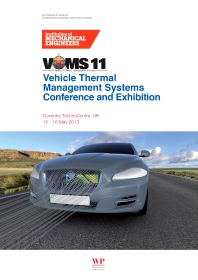 Cover image for Vehicle Thermal Management Systems Conference Proceedings (VTMS11)