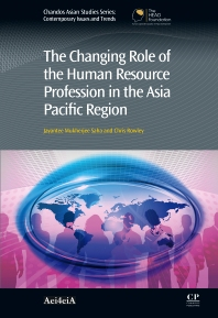 Cover image for The Changing Role of the Human Resource Profession in the Asia Pacific Region