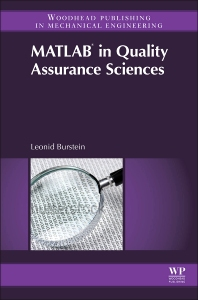 Cover image for Matlab® in Quality Assurance Sciences