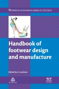 Cover image for Handbook of Footwear Design and Manufacture