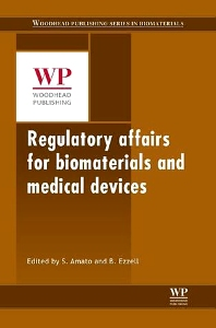 Cover image for Regulatory Affairs for Biomaterials and Medical Devices