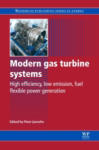 Modern Gas Turbine Systems, 1st Edition,Peter Jansohn,ISBN9780857096067