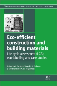 Cover image for Eco-efficient Construction and Building Materials