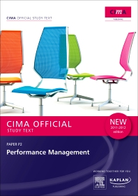 CIMA Official Study Text Performance Management 2011-2012 edition