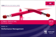 CIMA Revision Cards Performance Management 2011-2012 edition