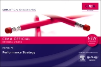 CIMA Revision Cards Performance Strategy 2011-2012 edition
