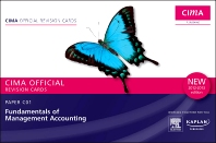 CIMA Revision Cards Fundamentals of Management Accounting 2012-2013 edition