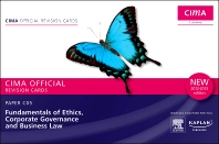 CIMA Revision Cards Fundamentals of Ethics, Corporate Governance & Business Law 2012-2013 edition