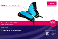 CIMA Revision Cards Enterprise Management 2012-2013 edition, 1st Edition,ISBN9780857325785