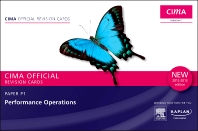 CIMA Revision Cards Performance Operations 2012-2013 edition