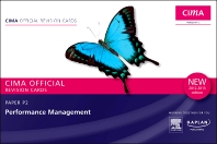 CIMA Revision Cards Performance Management 2012-2013 edition