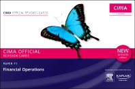CIMA Revision Cards Financial Operations 2012-2013 edition, 1st Edition,ISBN9780857325839