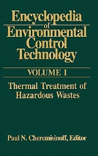 Cover image for Encyclopedia of Environmental Control Technology: Volume 1