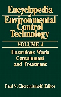 Cover image for Encyclopedia of Environmental Control Technology: Volume 4