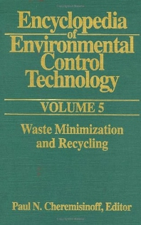 Cover image for Encyclopedia of Environmental Control Technology: Volume 5
