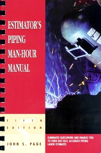 Estimator's Piping Man-Hour Manual - 5th Edition - ISBN: 9780884152590, 9780080506005