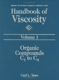Handbook of Viscosity: Volume 1 - 1st Edition - ISBN: 9780884153627