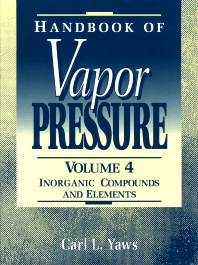 Cover image for Handbook of Vapor Pressure: Volume 4