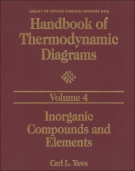 Handbook of Thermodynamic Diagrams, Volume 4, 1st Edition,Carl L. Yaws,ISBN9780884158608