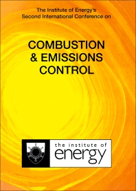 Cover image for The Institute of Energy's Second International Conference on COMBUSTION & EMISSIONS CONTROL