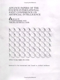 Cover image for IJCAI Proceedings 1975